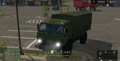 Mод на КАМАЗ 4350